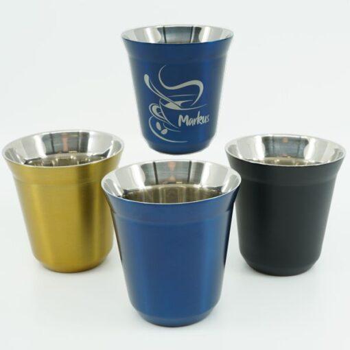 Kaffee Tassen gravieren