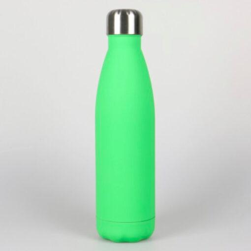 Isolierte Trinkflasche grün soft
