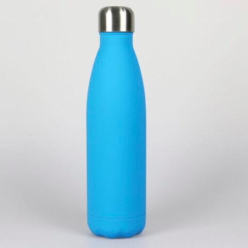 Edelstahl Wasserflasche türkis