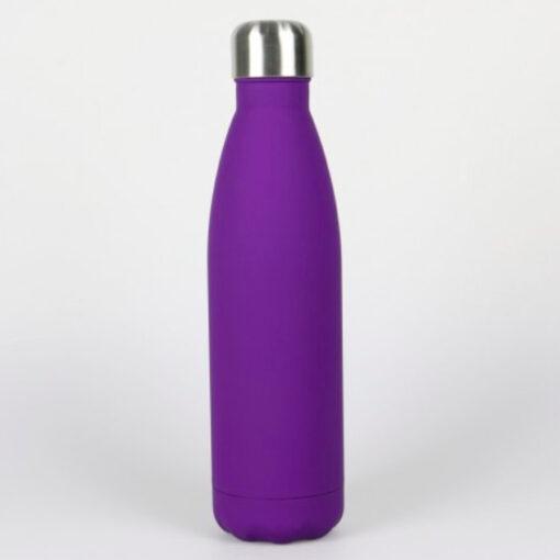 Isolierte Trinkflasche violett soft