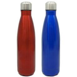 Edelstahl Trinkflasche glänzend