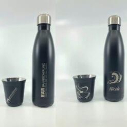 Mitarbeitergeschenk personalisierte Trinkflasche