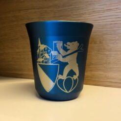 Kaffeebecher Gravur