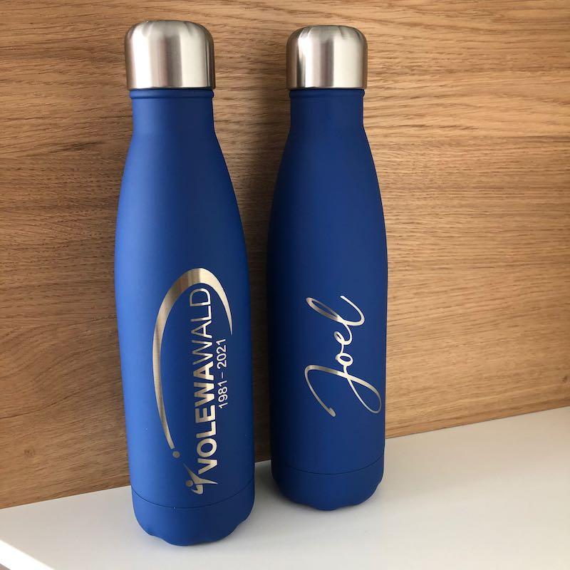 Individuelle Flaschengravur