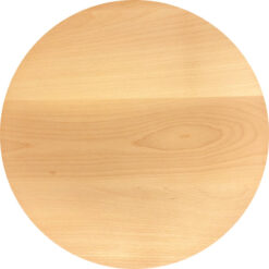 Pizzabrett rund aus Buchenholz